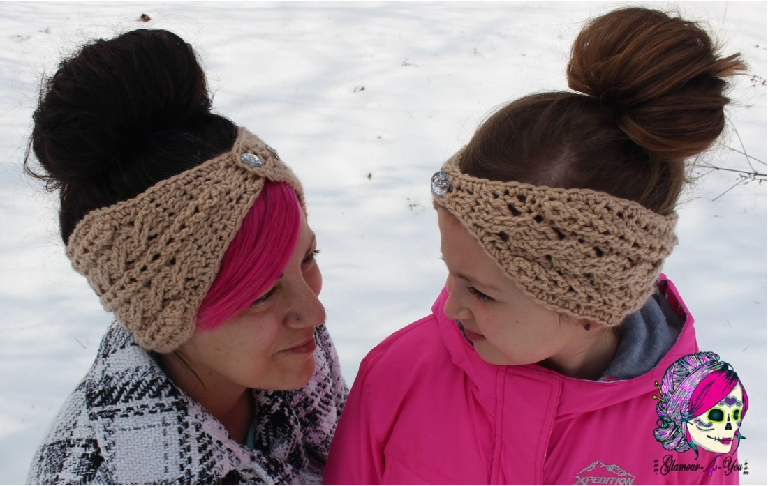 Braided Glam Cable Earwarmer Glamour4you